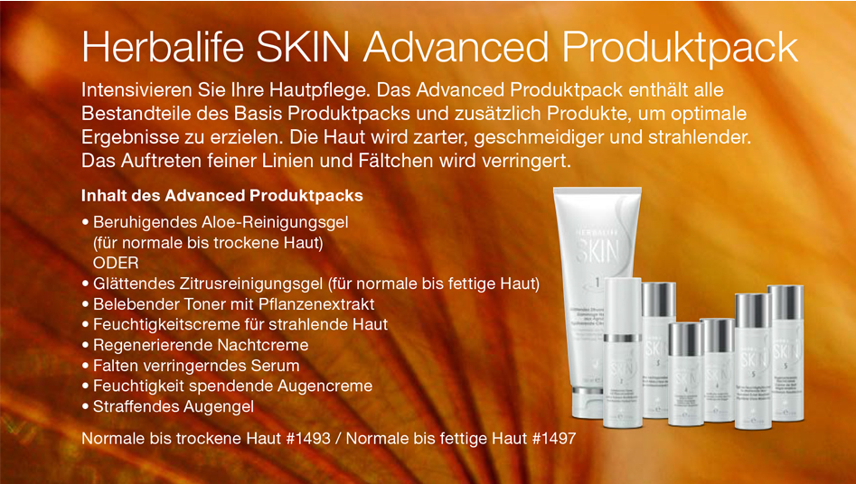 HERBALIFE SKIN – Advanced Produktpack