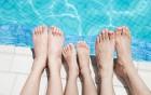Freibadsaison - die Fusspilze kommen